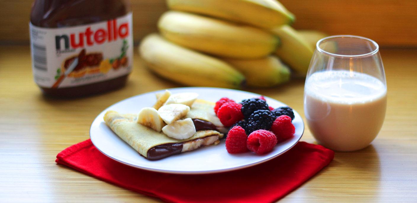 nutella-frukost