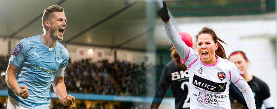 Allsvenskan vs Damallsvenskan